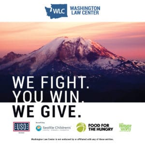 Washington Law Center Charity - We Give Campaign