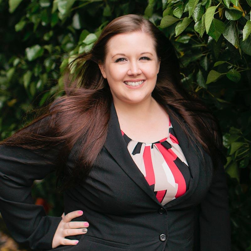 Ashley Christansen, Receptionist
