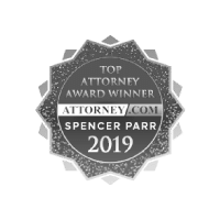 Top Injury Attorney Award Winner - Spencer Parr - Washington Law Center